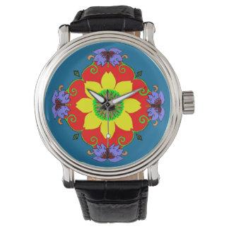 Lotus Mandala Wrist Watch