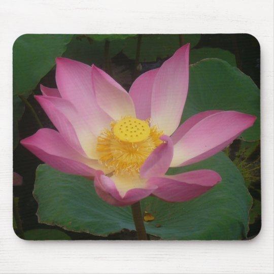 Lotus mouse pad