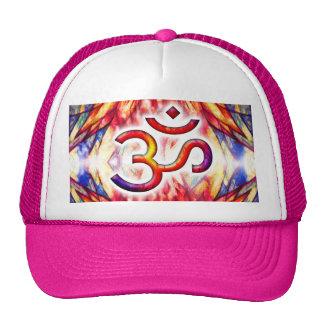 Lotus OM Art Trucker Hats