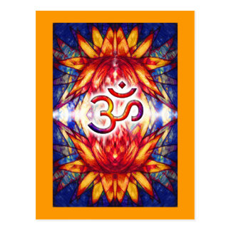Lotus OM Art Postcard