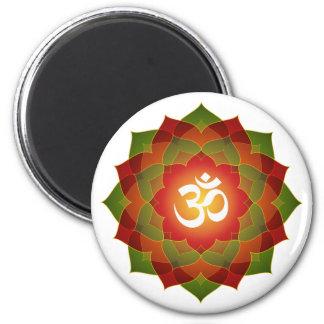 Lotus Om Design Magnet