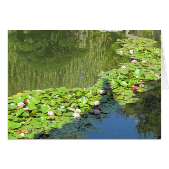 Lotus Path Card