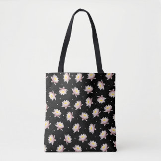 Lotus Patterned Bag