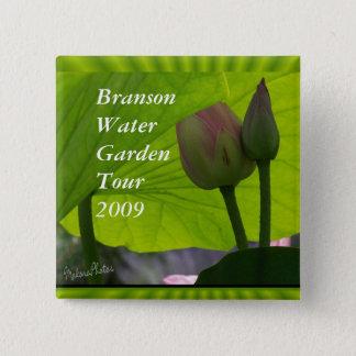 Lotus Pin-customize 2 Inch Square Button
