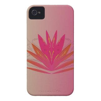 Lotus pinkorange Case-Mate iPhone 4 cases