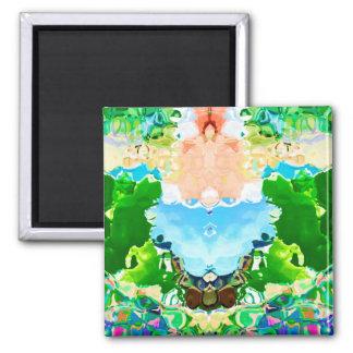 Lotus Pond - Celebrating Nature Magnet