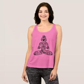 Lotus Pose Yoga Tank Top