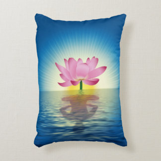 Lotus Reflection Accent Pillow