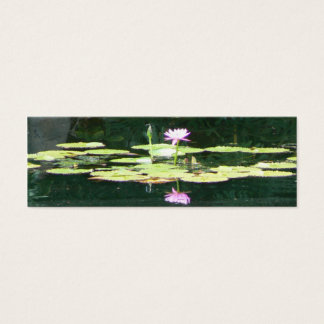 Lotus Reflections Mini Business Card