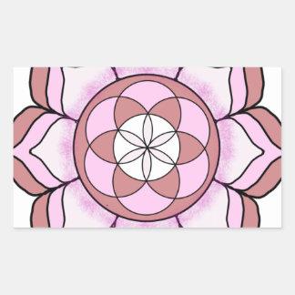 Lotus Rose Sticker