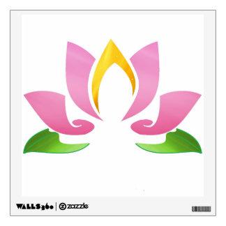 Lotus Sage Logo Wall Sticker