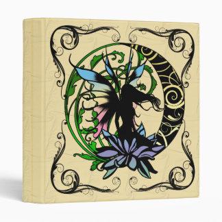 Lotus Shadow Fairy 3 Ring Binders