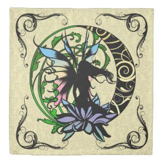 Lotus Shadow Fairy Duvet Cover