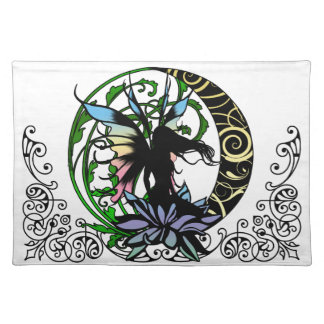 Lotus Shadow Fairy Placemat