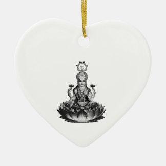Lotus Song Ceramic Ornament