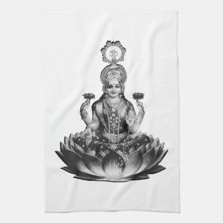 Lotus Song Kitchen Towel