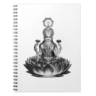 Lotus Song Spiral Notebook