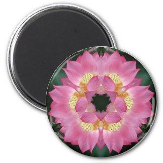 Lotus Starburst Magnet