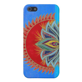 Lotus Sun iPhone 5 Cases