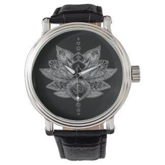 Lotus Symbol Wristwatch