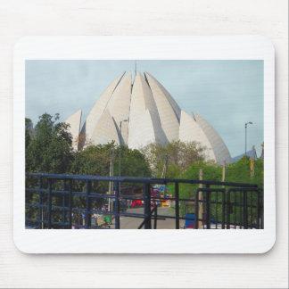 Lotus Temple New Delhi India Bahá'í House Worship Mouse Pad