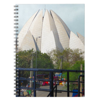 Lotus Temple New Delhi India Bahá'í House Worship Notebooks