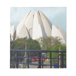 Lotus Temple New Delhi India Bahá'í House Worship Notepads