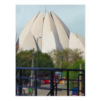 Lotus Temple New Delhi India Bahá'í House Worship Postcard