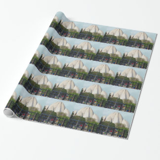 Lotus Temple New Delhi India Bahá'í House Worship Wrapping Paper
