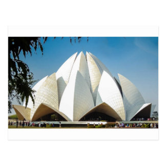 Lotus Temple Postcard
