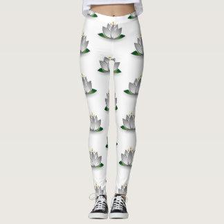 Lotus to flower leggins leggings