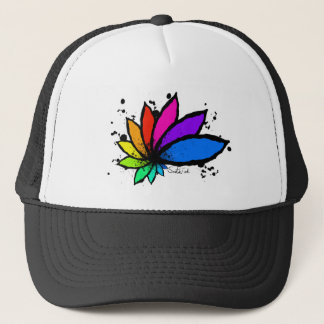 Lotus Trucker Hat