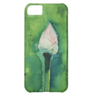 Lotus watercolor case for iPhone 5C