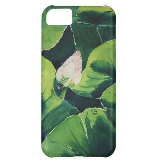 Lotus watercolor iPhone 5C case