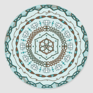 Lotus Weave Sticker