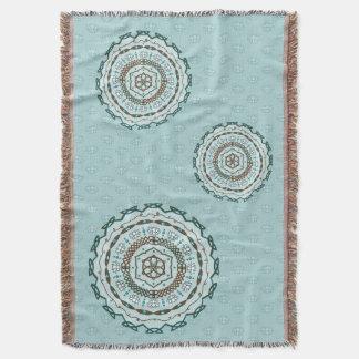 Lotus Weave Throw Blanket