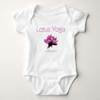 lotus yoga baby baby bodysuit