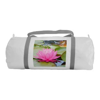 lotus yoga gym bag!