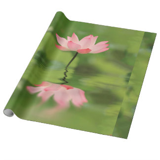 Lotus Zen Wrapping Paper