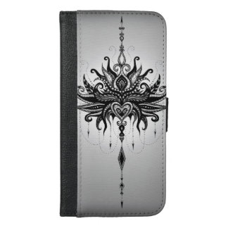 Lotusmandala iPhone 6/6s Plus Wallet Case