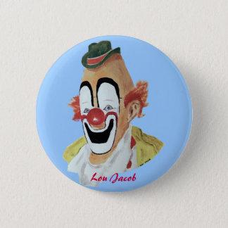 Lou Jacob Clown Button