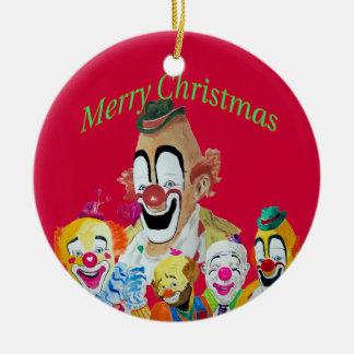 Lou Jacob Clown Christmas Ornament