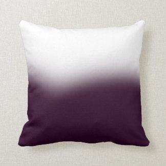 Lou Kirsten Bold Series 2 - Deep Plum Throw Pillow
