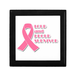 Loud and Proud Breast Cancer Survivor Gift Box