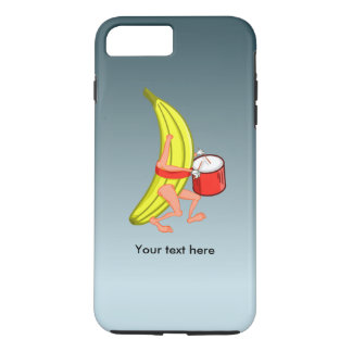 Loud Banana Who Loves Plaing The Drums iPhone 7 Plus Case
