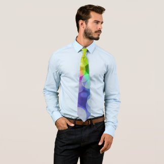 Loud Colorful rainbow Tie