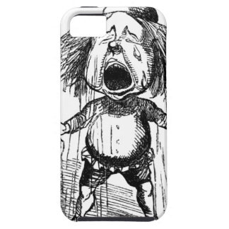 Loud Crying Boy Funny Cartoon Drawing Tears iPhone 5 Cover