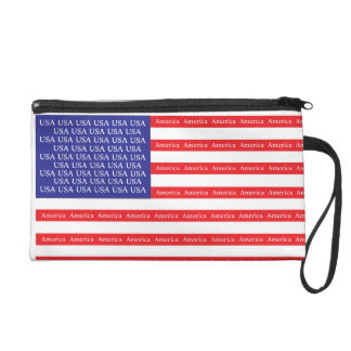 Loud & Proud American Flag Wristlets