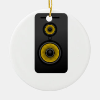Loud Speaker Ceramic Ornament