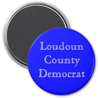 Loudoun County Democrat Car/Fridge Magnet